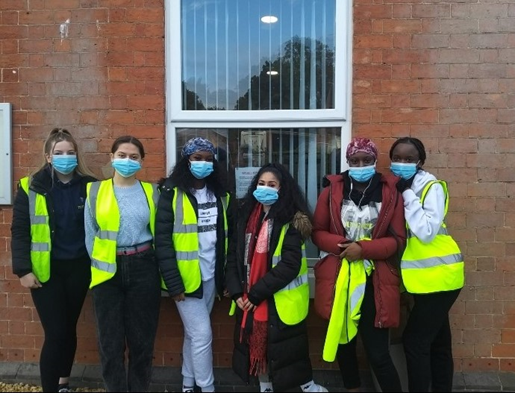 Health & Social Care students at Kings Norton Surgery