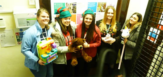 Students Dig Deep for Charity