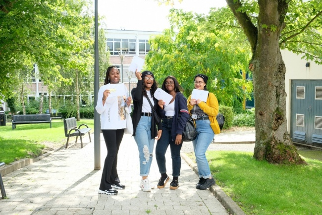 Cadbury College students look forward to next steps following A Level results