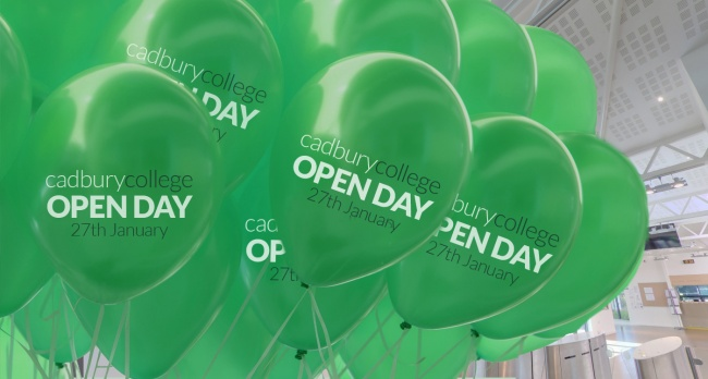 Cadbury College - Open Day